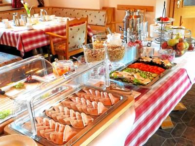 Alpenhotel Bergzauber Frühstücksbuffet