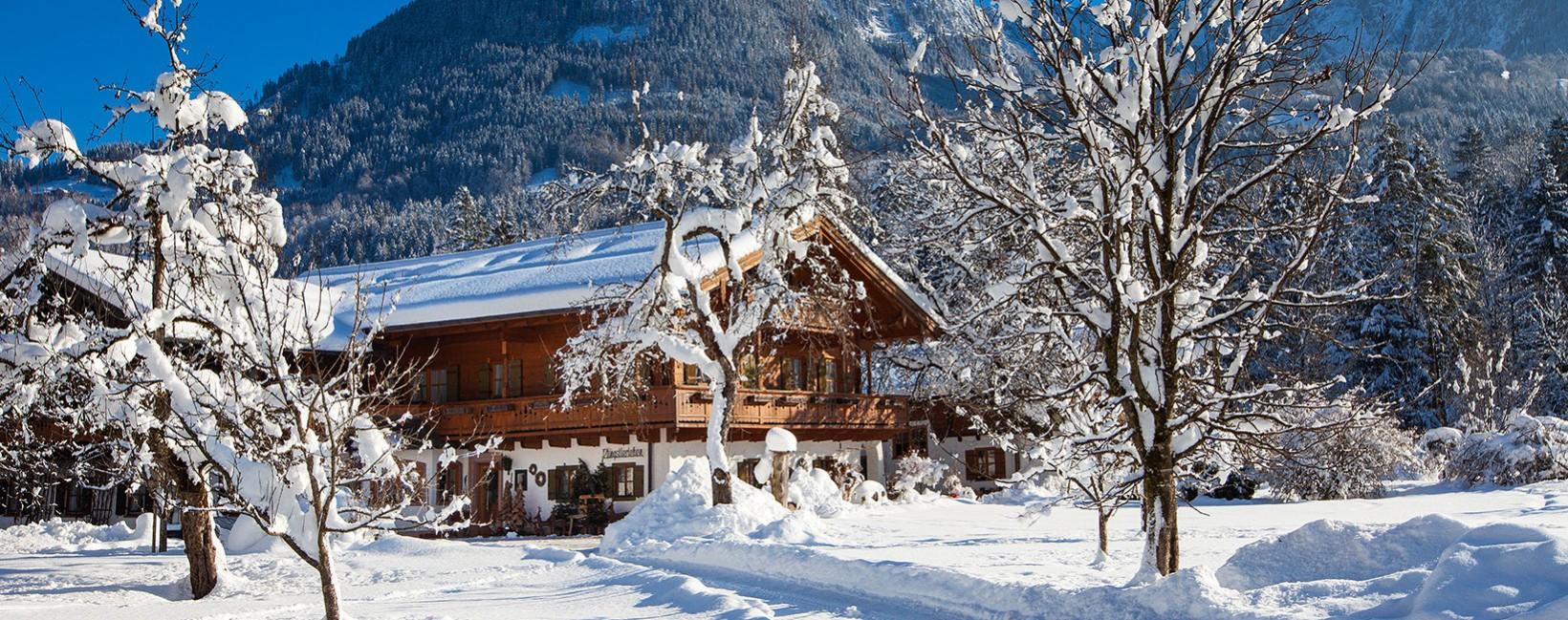 Gästehaus Pfingstlerlehen Winter