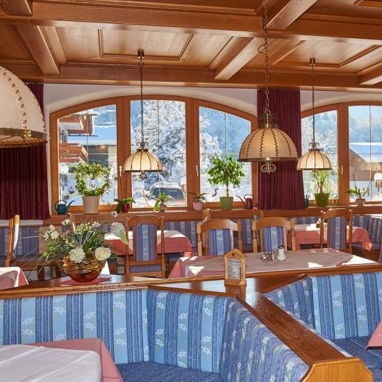 Restaurant im Hotel Bergheimat
