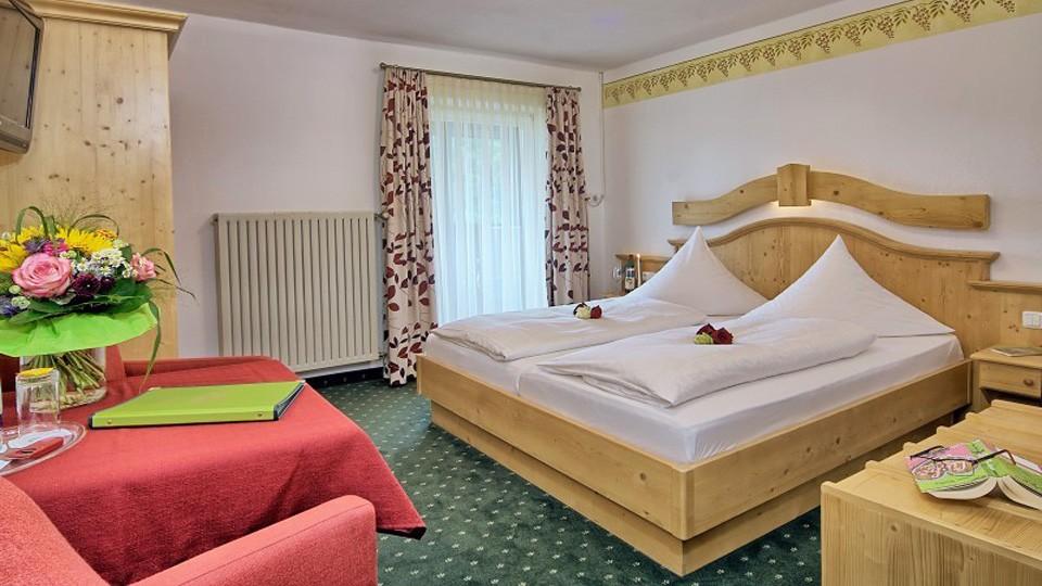 Doppelzimmer im Hotel Grünberger
