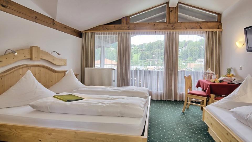 Dreibettzimmer im Hotel Grünberger
