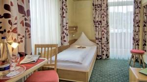 Einzelzimmer im Hotel Grünberger