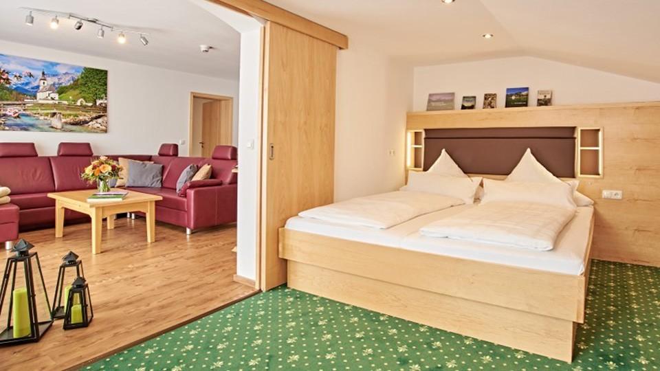 Luxus Appartement im Hotel Grünberger