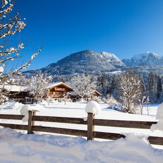 Gästehaus Pfingstlerlehen im Winter