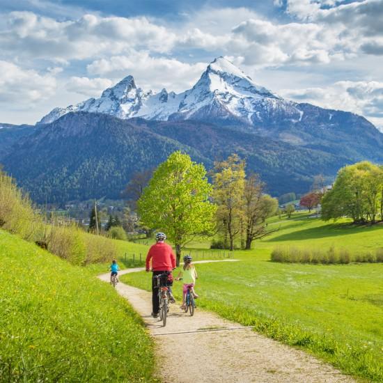 Radfahren im Sommerurlaub in Berchtesgaden