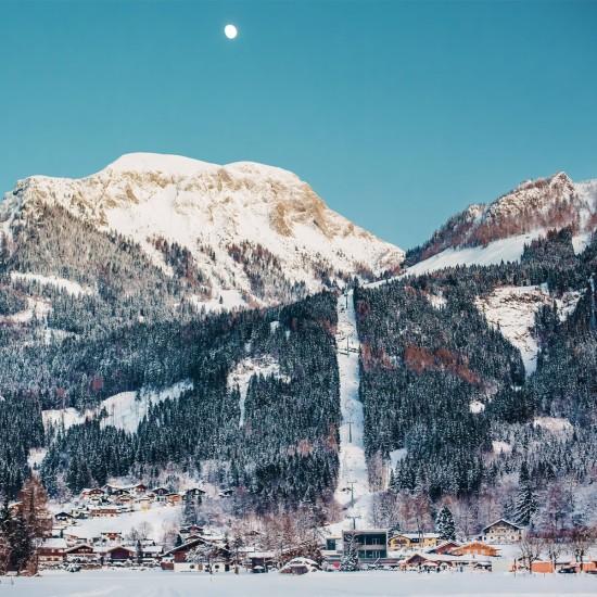 Der nahe gelegene Jenner mit Skigebiet