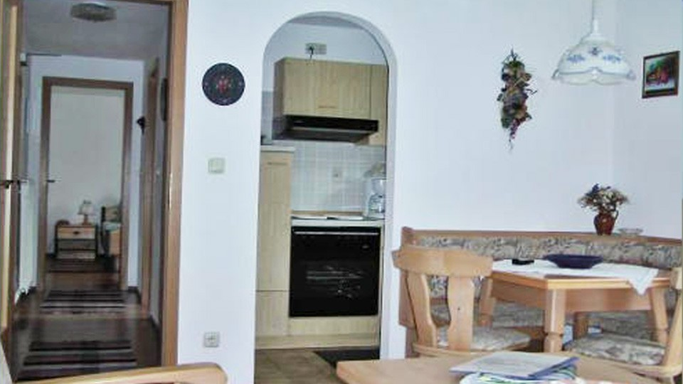 Ferienwohnung Jenner Wohnzimmer & Küche