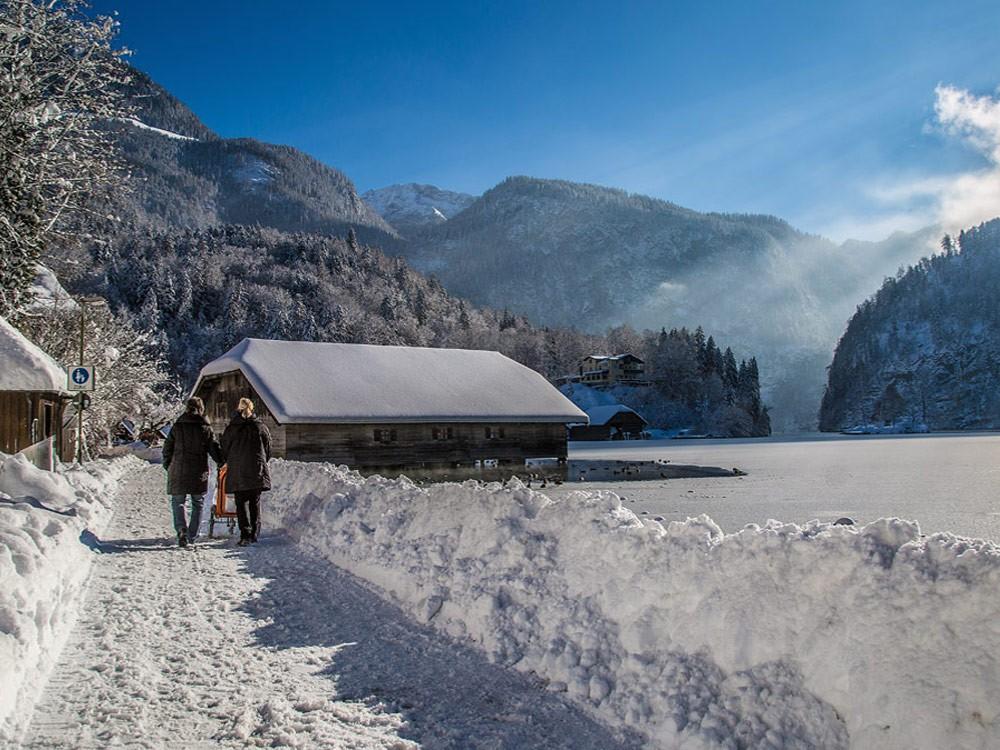 Winterwanderung am Königssee