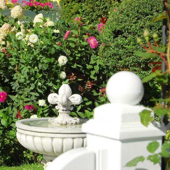 Gartenbrunnen im Haus am Forst
