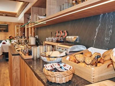 Hotel Grünberger Frühstücksbuffet