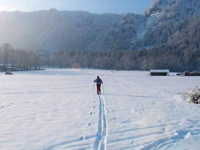 Winterwanderwege direkt vor der Tür