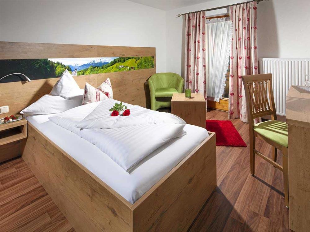 Hotel Hindenburglinde Einzelzimmer Schärtenspitz