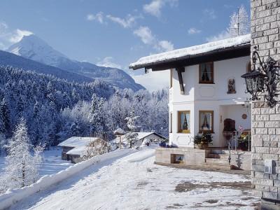 Haus Michael im Winter