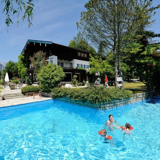 Stolls Hotel Alpina - Außenpool