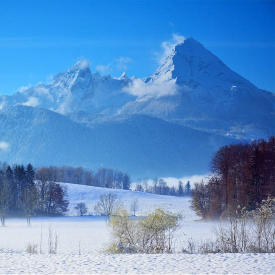 Alpensporthotel Seimler Ausblick auf Watzmann