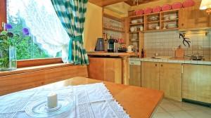 Ferienwohnung Hintersee Küche