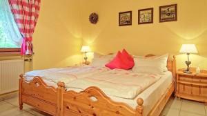 Ferienwohnung Hintersee Schlafzimmer