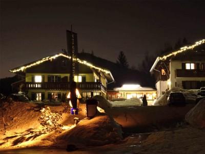 Alpenhotel Bergzauber im Winter