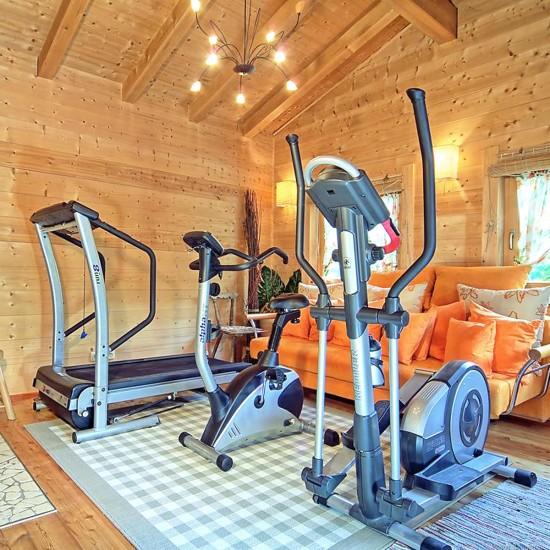 Fitness-Stadl im Haus Zechmeister