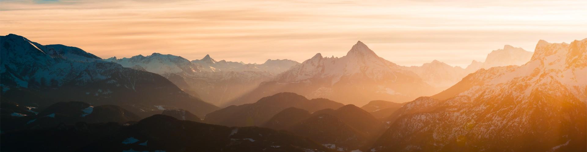Berchtesgadener Bergpanorama