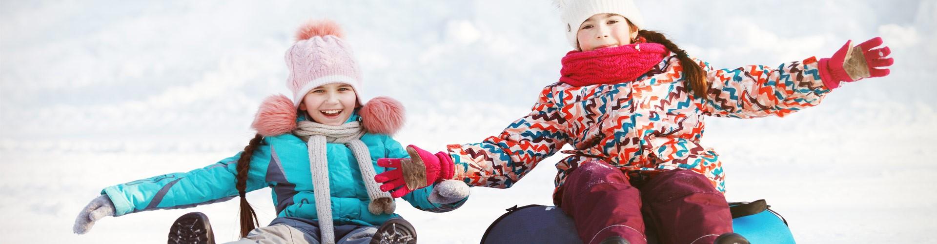 Familienurlaub Winter Rodeln in Berchtesgaden
