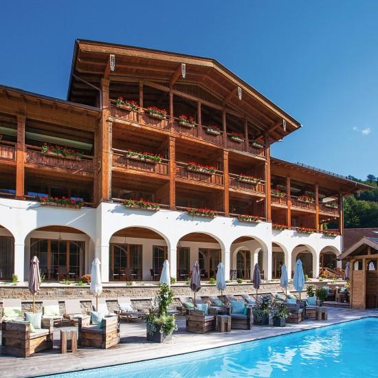 Hotel Rehlegg Sommer Außenansicht