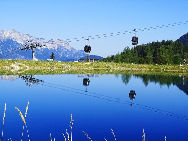 Die neue Jennerbahn in Schönau bei Berchtesgaden