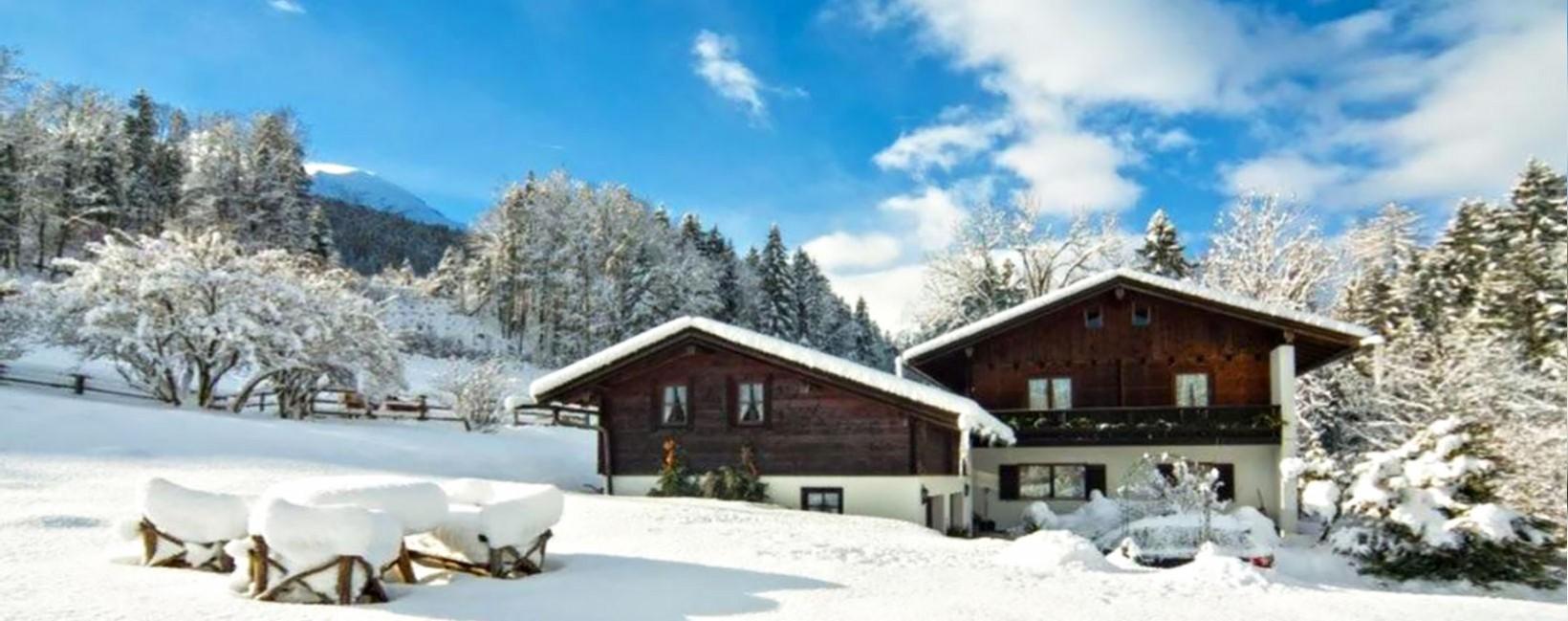 Appartementhaus Zechmeister im Winter