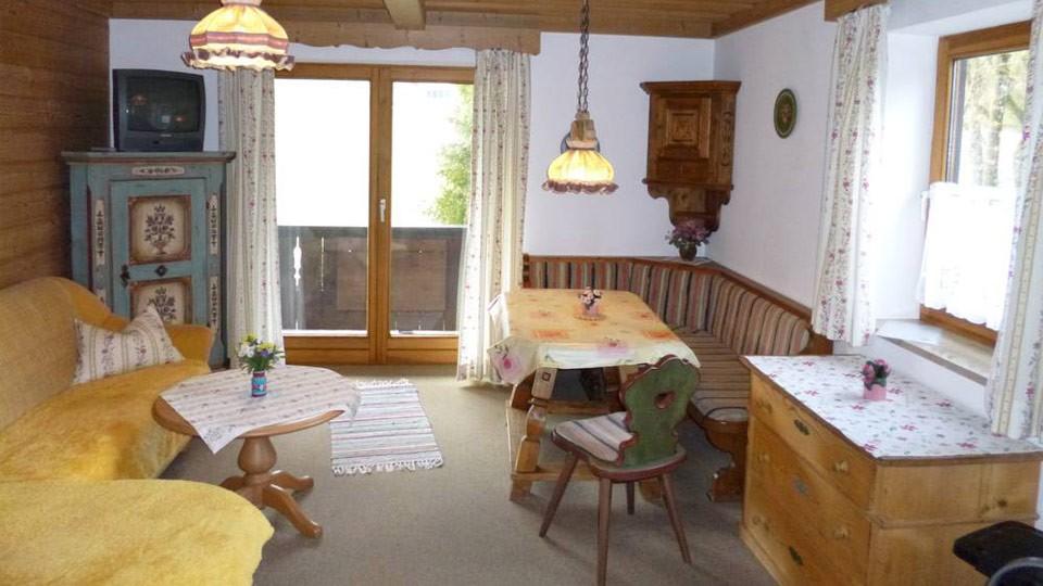 Appartement 1 Wohnbereich