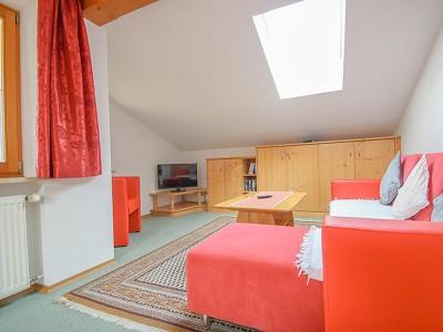 Ferienwohnung Untersberg Wohnzimmer