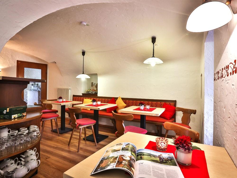 Gästehaus Heißenlehen Frühstücksraum