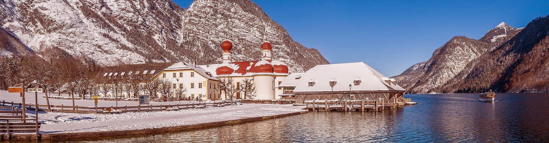 Schönau a. Koenigssee im Winter