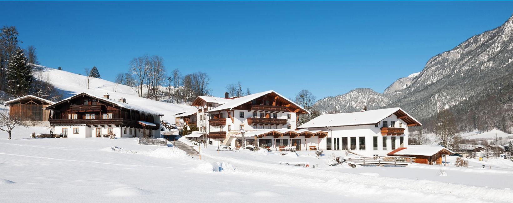 Naturhotel Reissenlehen im Winter