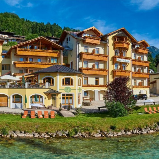Hotel Grünberger Berchtesgaden im Sommer