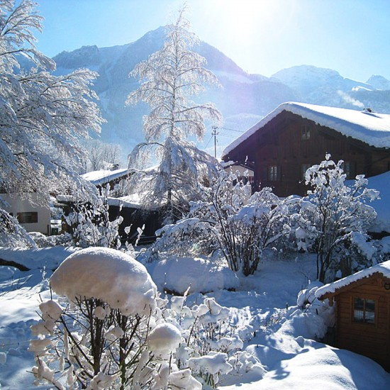 Haus Maria Aussicht im Winter
