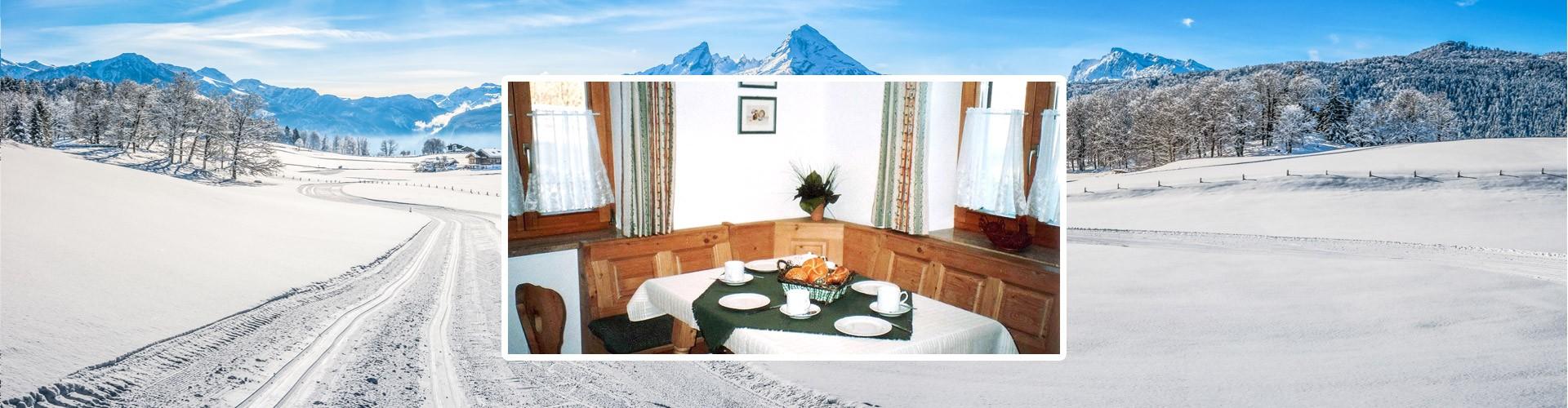 Ferienwohnungen Schwöbeck im Winter