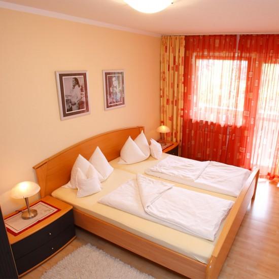 Haus Maria Schlafzimmer Fewo Romy
