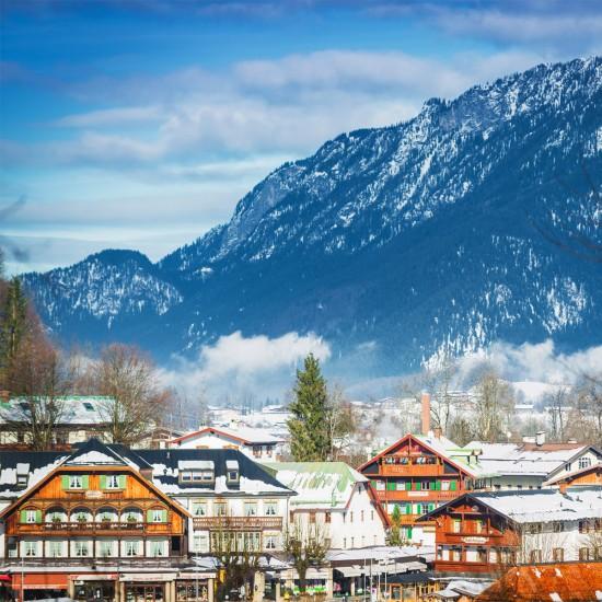 Schönau am Königssee im Winter