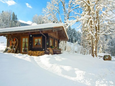 Zechmeister Hütte im Winter