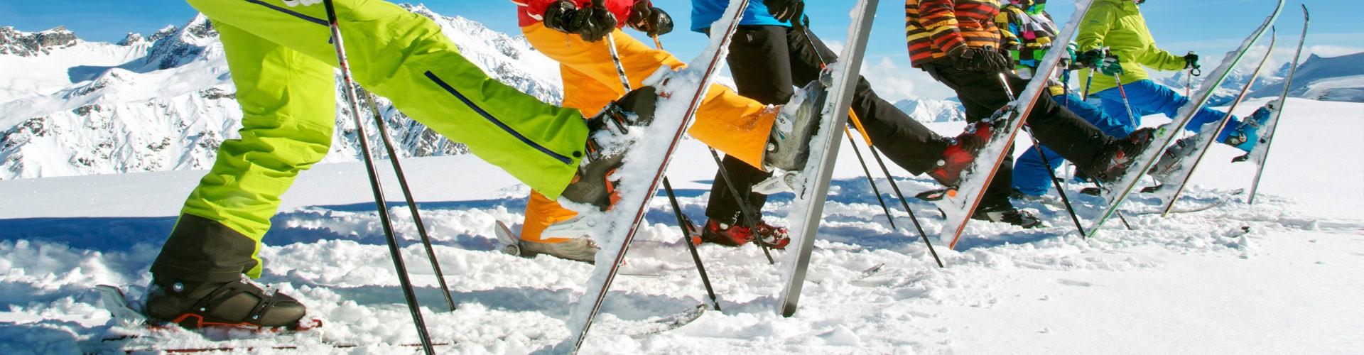 Ski & Snowboard fahren in den Alpen