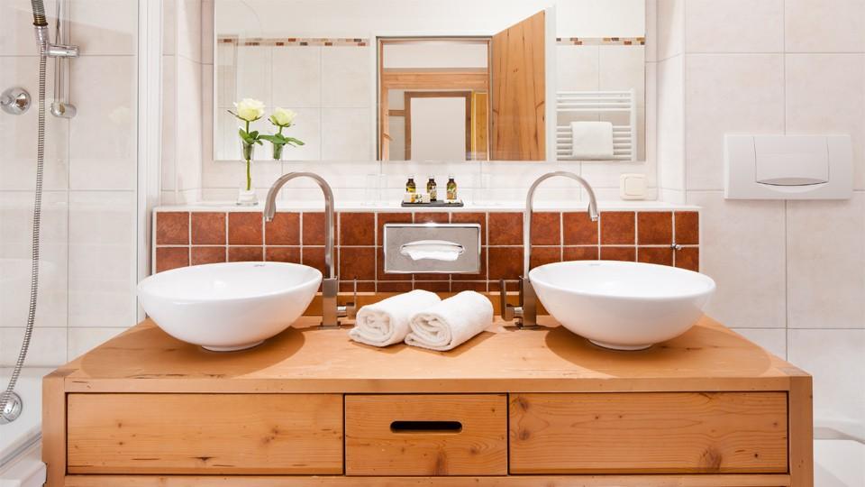 Hotel Rehlegg Badezimmer