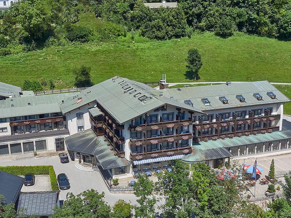 Hotel Seimler Vogelperspektive