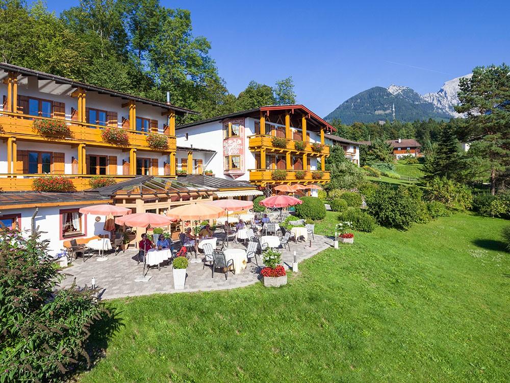 Hotel Georgenhof Schönau - Terrasse