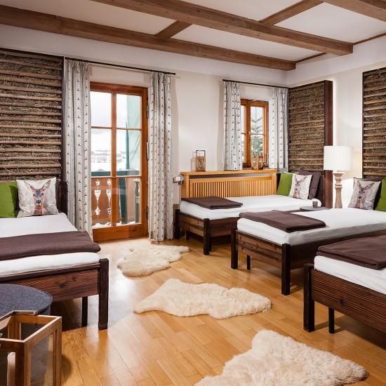 Hotel Rehlegg Ruheraum Heustüberl