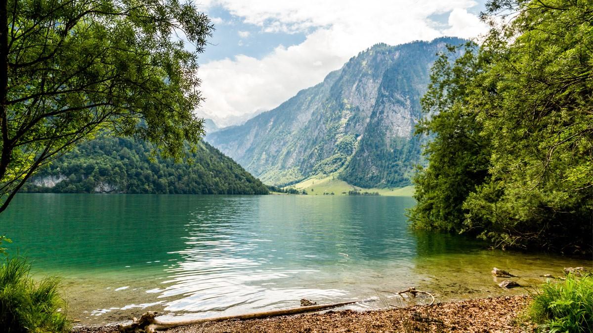 Der Königssee im Sommer