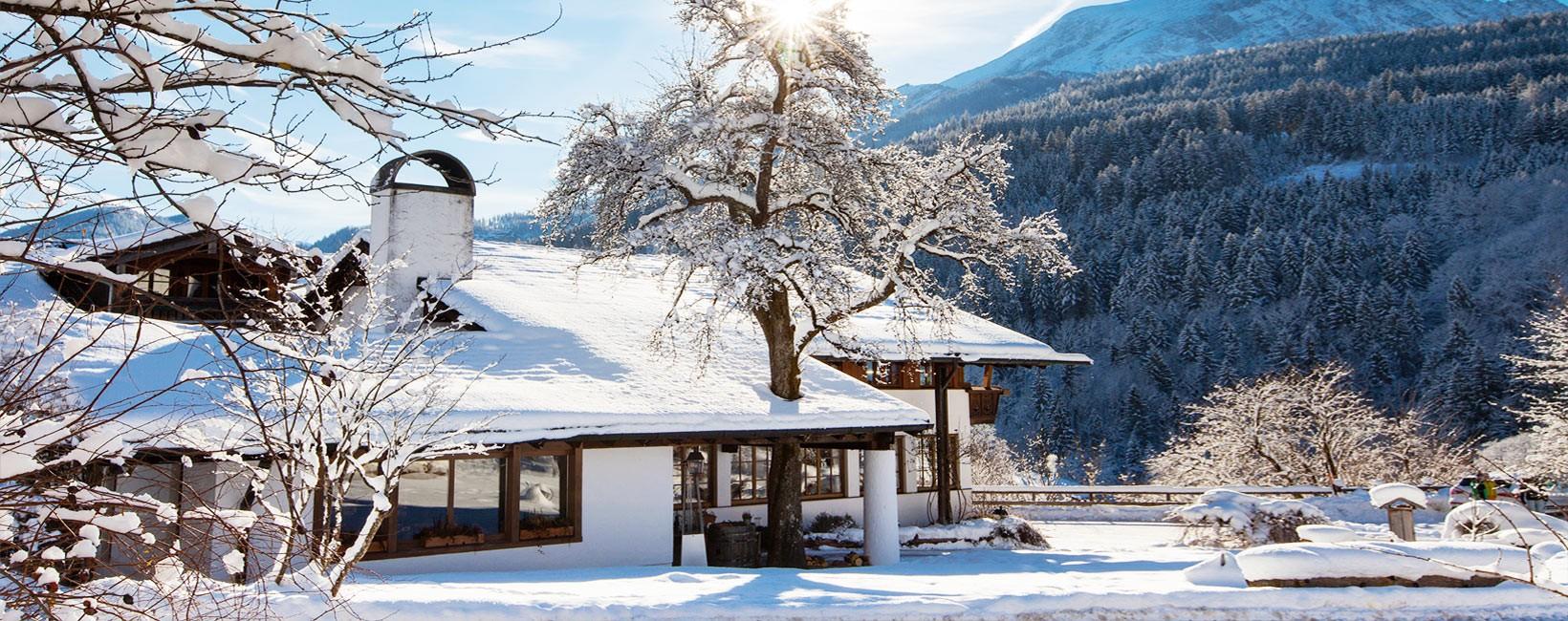 Berghotel Rehlegg im Winter
