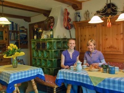 Landhaus Maltermoos Frühstücksraum