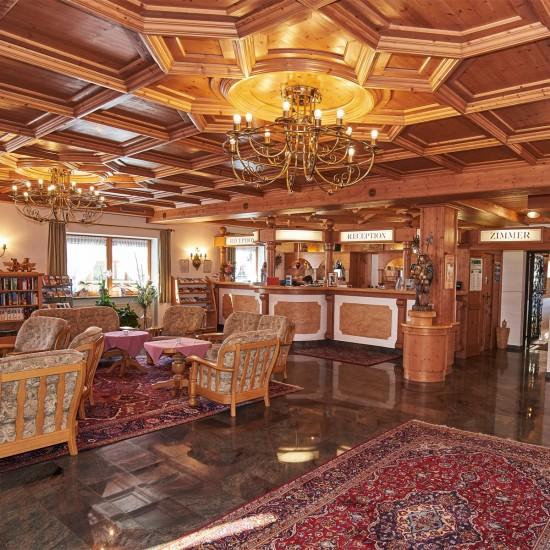 Hotel-Gasthof Bergheimat Rezeption