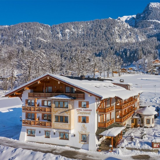 Hotel-Gasthof Bergheimat im Winter