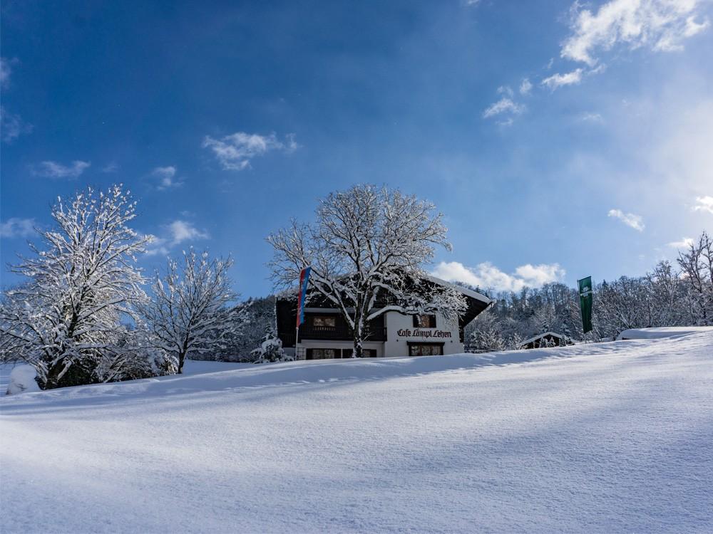 Hotel Lampllehen im Winter